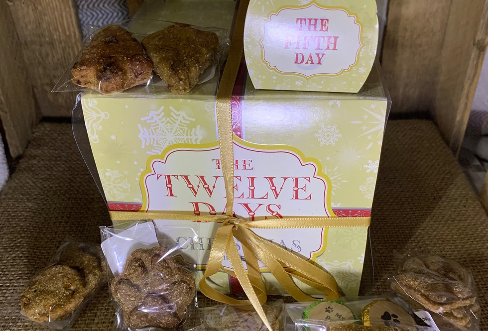 The 12 days of Christmas Box of Treats