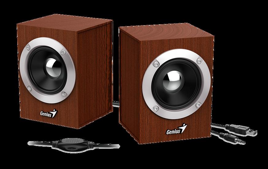 Genius SP-HF280 Wooden USB Powered Speakers