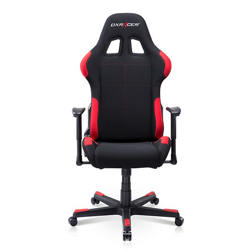 DXRacer Formula Breathable Fabric Ergonomic Gaming Chair - Black / Red
