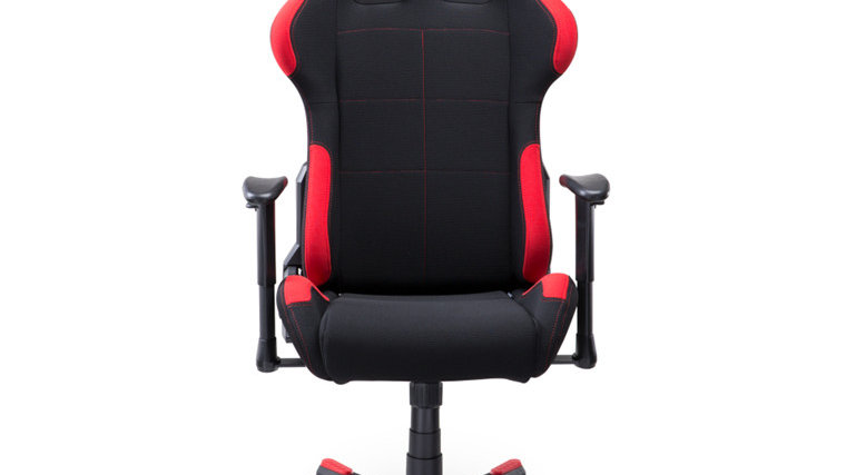 DXRacer Formula Breathable Fabric Ergonomic Gaming Chair - Black / Red