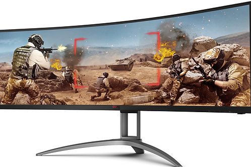 "49"" AOC Curved UltraWide Gaming Monitor"