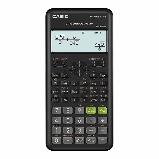 Casio FX-82ES PLUS 2nd Edition Scientific Calculator