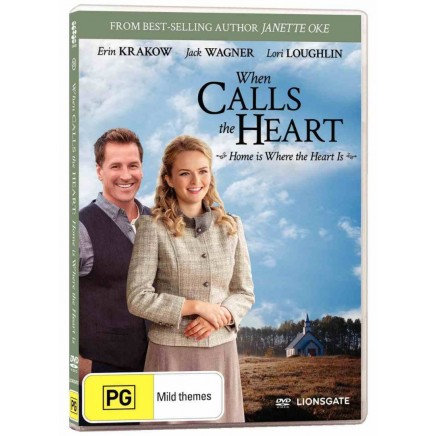 DVD When Calls The Heart #26: Home is Where the [PG]