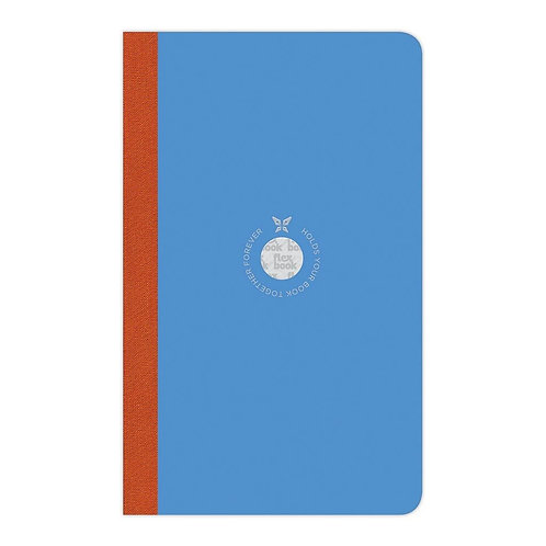 Flexbook Smartbook Notebook Medium Ruled Blue/Orange