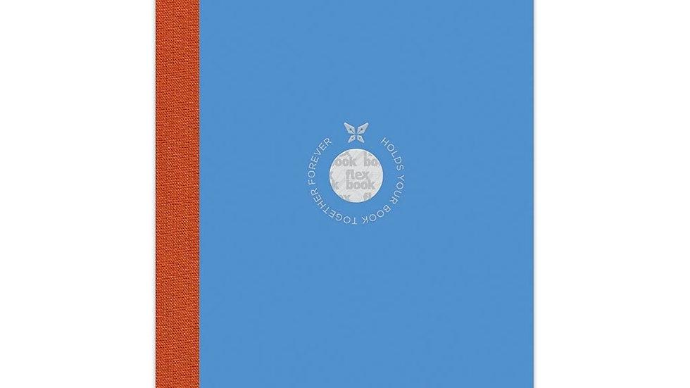 Flexbook Smartbook Notebook Medium Ruled Blue/Orange