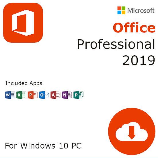 Microsoft Office 2019 Professional OEM Activation Key – 1 Windows PC
