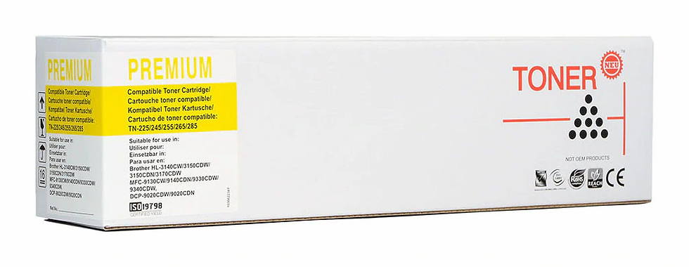 Icon Compatible Brother TN255 Yellow Toner Cartridge
