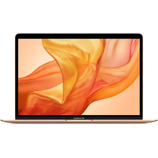 "Apple 13"" Macbook Air Retina (2020) (Gold) - Intel i3 Dual Core 1.1 Ghz 10thGen."