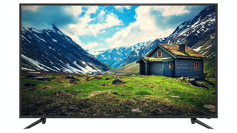 "KONIC 55"" 4K LED TV , 3840X2160,HDMIx3,USB,PVR,FREEV,200*200"
