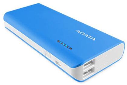 ADATA PT100 10000mAh Powerbank with Flashlight - Blue/White