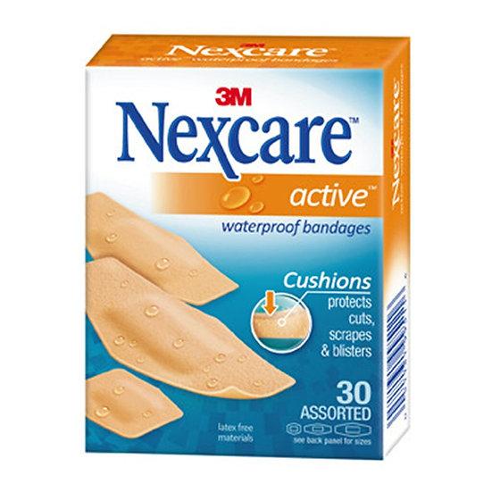 Nexcare Active Bandages 516-30PB Assorted Pkt/30