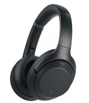 Sony WH1000XM3B Wireless Noise Cancelling Overhead Headphones Black