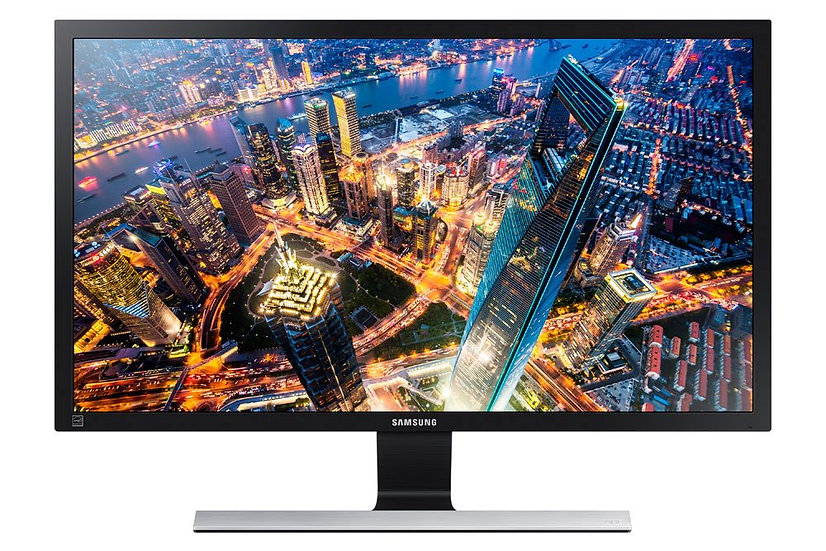 "Samsung U28E590D 71.1 cm (28"") 4K UHD LED LCD Monitor - 16:9 - Black, Metallic S"