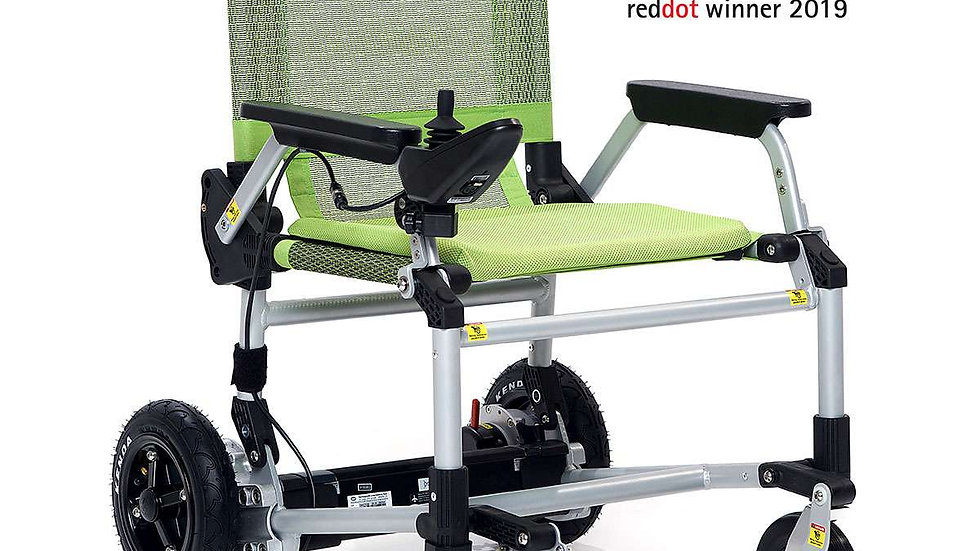 Movingstar 101 Foldable Mobility Wheelchair