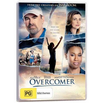 DVD Overcomer [PG]