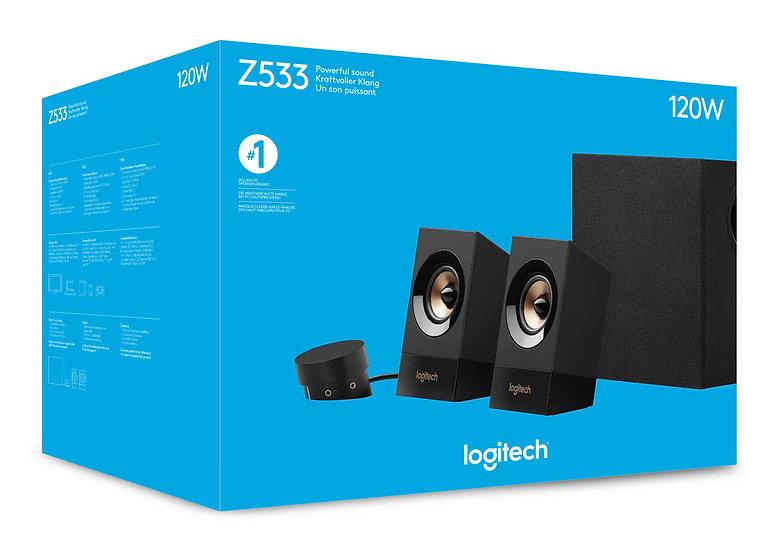 Logitech Z533 2.1 Channel 60W Multimedia Speakers