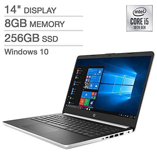 NEW HP LAPTOP I5-1035G1 1GHZ, 8GB, 256GB SSD, INTEL UHD GRAPHICS, WEBCAM, BT, 14