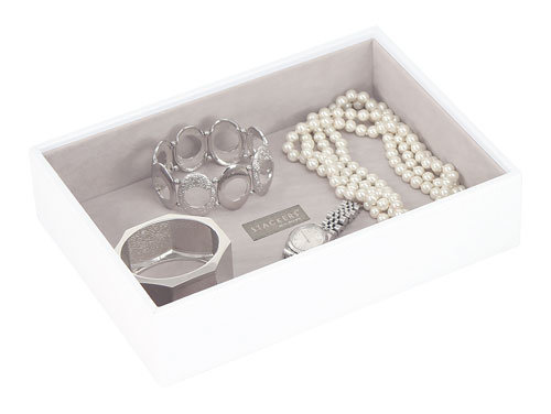 STACKERS CLASSIC DEEP OPEN COMPARTMENT LAYER WHITE