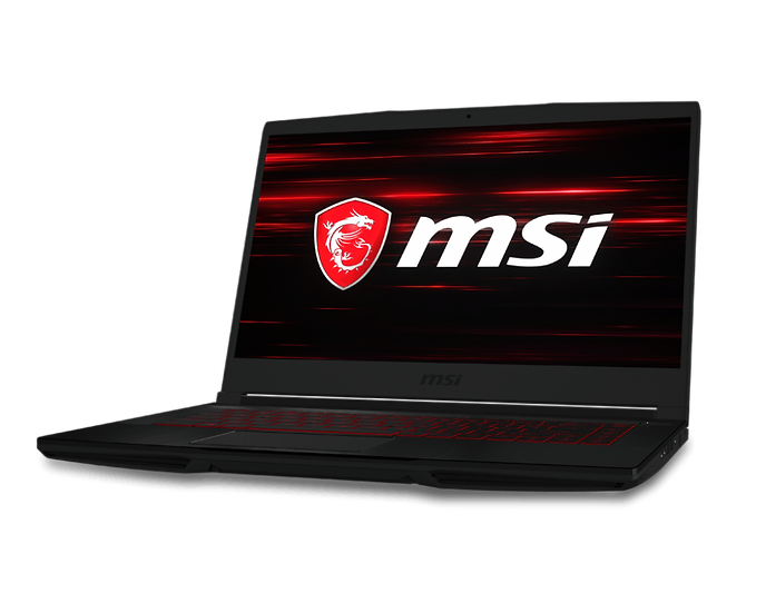 """MSI GF63 GAMING LAPTOP WITH COFFEELAKE i5-9300H,15.6"""" FHD IPS-Level,GTX 1650 MAX"""