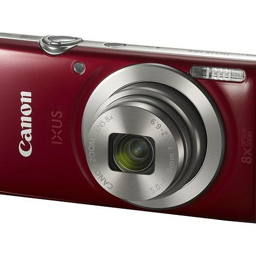 Canon IXUS 185 20.0MP 8x Zoom Digital Camera Red