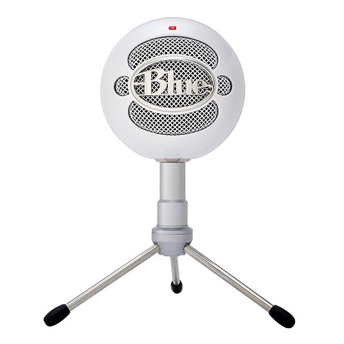BLUE Snowball iCE Versatile USB Microphone with HD Audio - Colour White