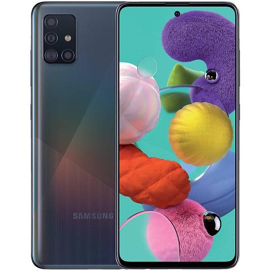 Samsung Galaxy A51 (2020) Dual SIM Smartphone 6GB+128GB - Prism Crush Black - 2