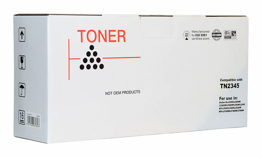 Icon Compatible Brother TN2345 Black Toner