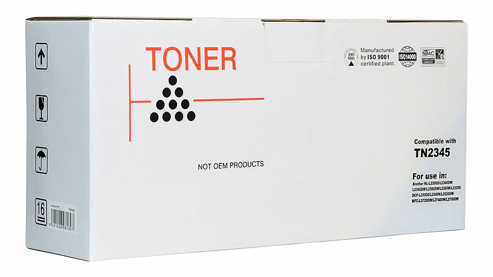 Icon Compatible Brother TN2345 Black Toner