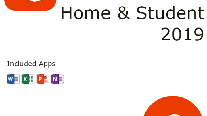 Microsoft Office 2019 Home & Student Activation Key – 1 Windows PC