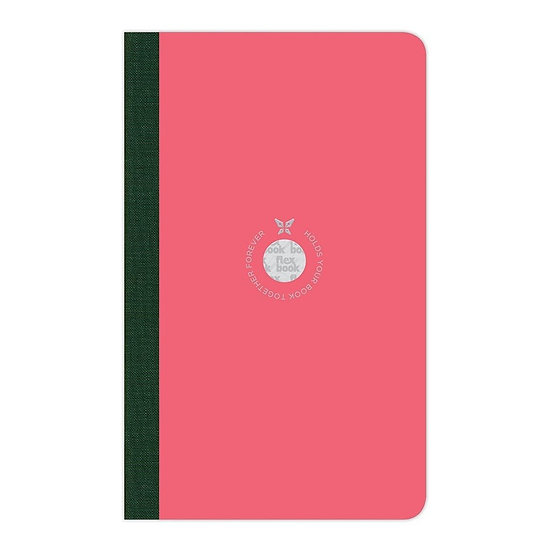Flexbook Smartbook Notebook Medium Ruled Pink/Green