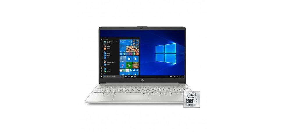 NEW HP 15 LAPTOP, I3-1005G1 1.2GHZ, 4GB, 128GB SSD, INTEL UHD GRAPHICS, WEBCAM,