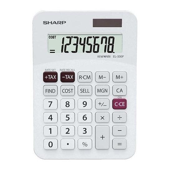 Sharp: EL-330FB Twin Power Desktop Tax Calculator