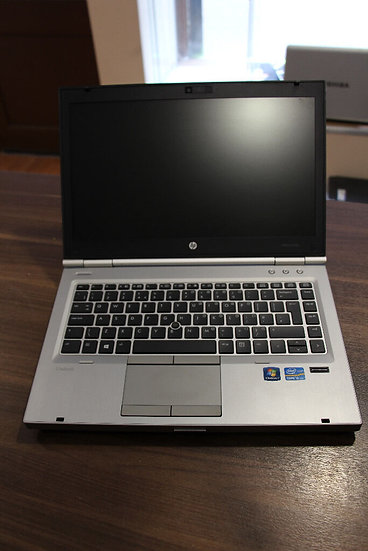 HP 8470P Elitebook Refurbished, 14'' i5-3360, 8GB, 128GB SSD, Win10Pro laptop