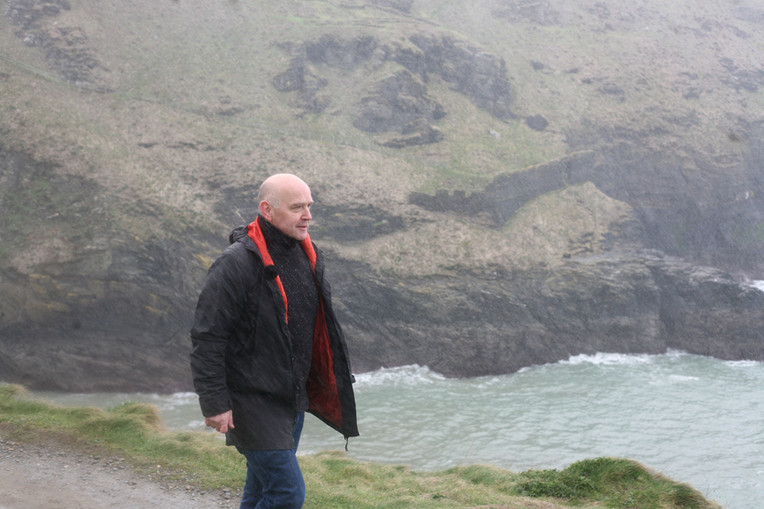 Final filming day at Tintagel