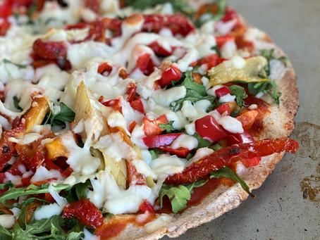 Quick Pita Pizza