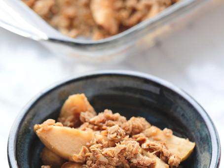 Gluten-Free Apple Coconut Crisp