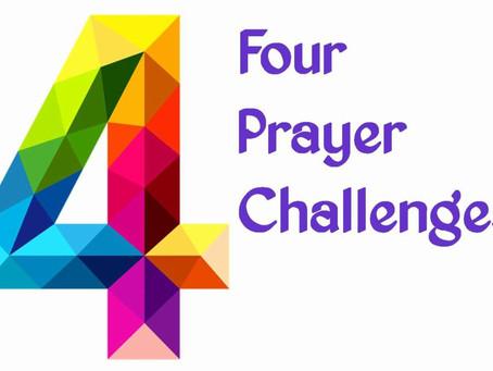 Four Prayer Challenges