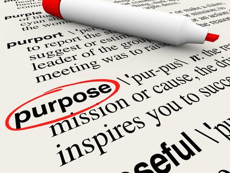 Your purpose or God's?