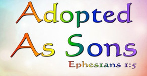 Adoption and Sonship