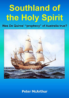 de Quiros, prophecy, great southland, holy spirit, proper interpretation