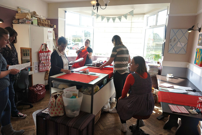 Advent calendar making workshop