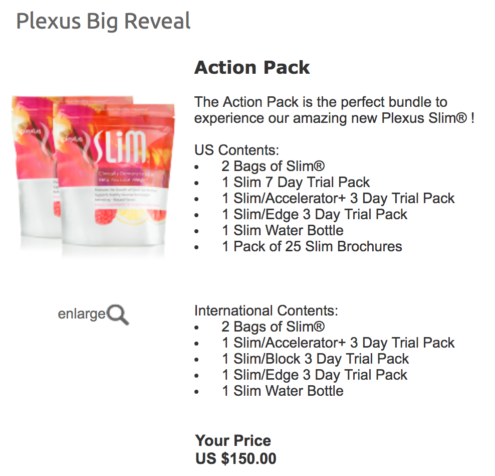 New Plexus Slim Order