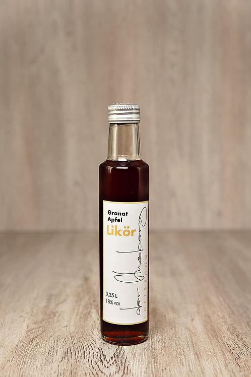 Granatapfel Likör | 0,25 l | 18 %-Vol.