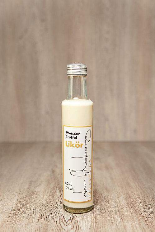 Weisser Trüffel Likör | 0,25 l | 17 %-Vol.