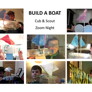 Build A Boat Zoom Night