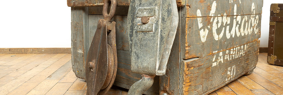 Vintage industriële decoratieve scheepskatrollen scheep katrollen katrol industrieel