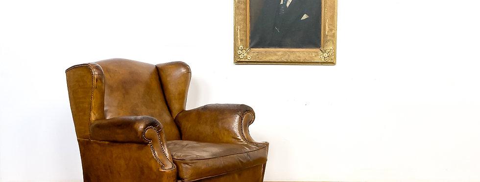 antiek olieverf portret schilderij heer painting lord antique 19e eeuw schilderij antieke antiek vintage