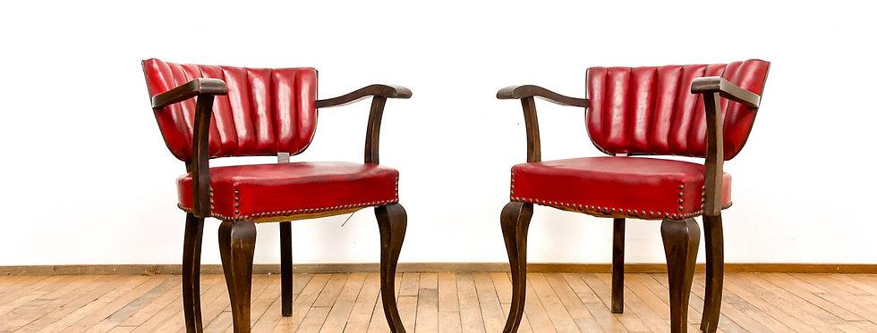 vintage antieke oude barber stoelen rood barbier kapper kappersstoelen stoelbarbershop