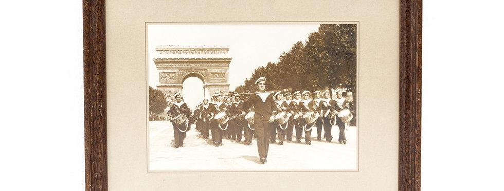 ORIGINELE PERSFOTO FRANSE MATROZEN 14 JULI 1935