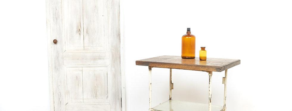 industriële vintage indistrial industrieel tafel metaal stoer loft mancave kookeiland kook eiland keuken tafel